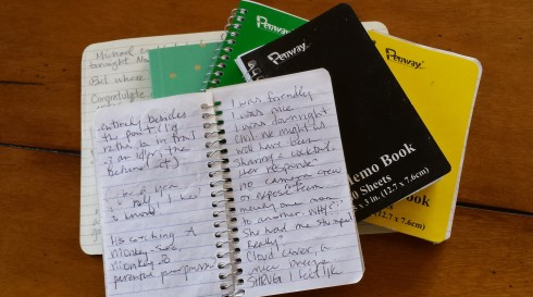 Writer notebooks