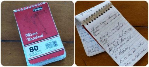 Dad's notebook